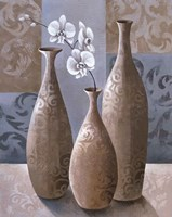 Silver Orchids II Fine-Art Print