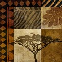 Acacia Sunrise I Fine-Art Print