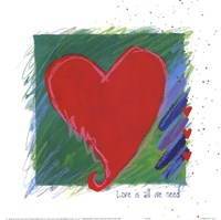 Love - heart Fine-Art Print