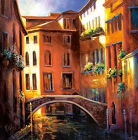 Sunset in Venice Fine-Art Print