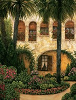 Patio Gerona Fine-Art Print