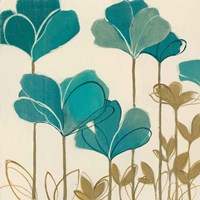 Ladybug Flowers II Fine-Art Print