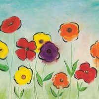 Flowering Garden II Fine-Art Print
