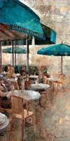 Terraza Cafe Les Deux Magots Fine-Art Print