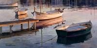 Barques al Port Fine-Art Print