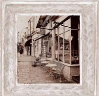Street Cafe Fine-Art Print