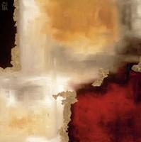Crimson Accent I Fine-Art Print