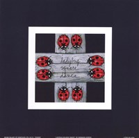 Ladybug Square Dance Fine-Art Print