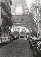 "Street View of """"La Tour Eiffel"""" Fine-Art Print"