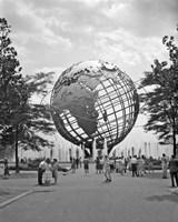 1964 New York World's Fair Unisphere Flushing Meadows NY Fine-Art Print