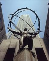 Atlas Statue Rockefeller Center, NYC Fine-Art Print