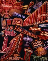 The Strip Neon Signs Las Vegas Fine-Art Print