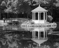 Gazebo Reflected In Pond Seaville NJ Fine-Art Print