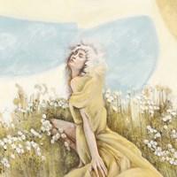Fairy of the Pale Skies (detail) Fine-Art Print