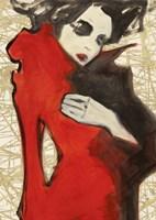 Feminine Red (detail) Fine-Art Print