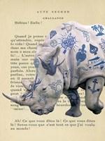 Tattooed Savannah III Fine-Art Print
