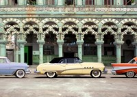 Cars parked in Havana, Cuba Fine-Art Print