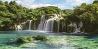 Waterfall in Krka National Park, Croatia Fine-Art Print