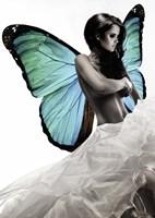 Winged Beauty #1 (detail) Fine-Art Print
