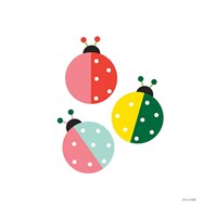 Ladybugs Three Fine-Art Print