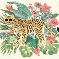 Jungle Vibes Jaguar Fine-Art Print