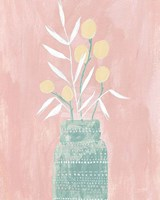 Seed and Bottle Pastel Crop Fine-Art Print