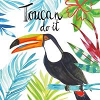 Tropicana II Toucan Fine-Art Print