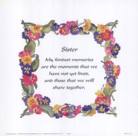 Sister Fine-Art Print