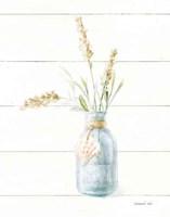 Beach Flowers III Neutral Fine-Art Print