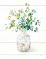Beach Flowers IV Vase Fine-Art Print