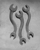 Dancing Wrenches Fine-Art Print