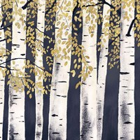 Fresh Forest Indigo III Fine-Art Print