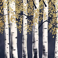 Fresh Forest Indigo II Fine-Art Print