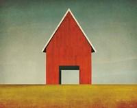 Red Barn Summer Fine-Art Print