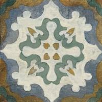 Old World Tile VI Fine-Art Print