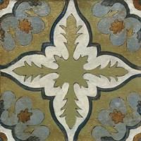 Old World Tile II Fine-Art Print