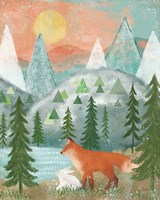 Woodland Forest V Fine-Art Print