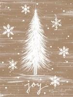 Joy Christmas Tree Fine-Art Print