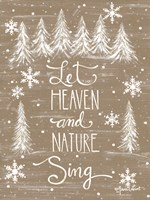 Let Heaven and Nature Sing Fine-Art Print