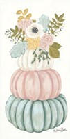 Floral Pumpkins Fine-Art Print