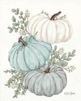 Pumpkin Trio Fine-Art Print