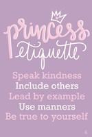 Princess Etiquette Fine-Art Print