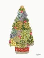 Santa's Succulents Fine-Art Print