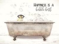 Happiness Bubble Bath Fine-Art Print