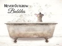 Never Outgrow Bubbles Fine-Art Print