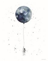 Moon Balloon Fine-Art Print