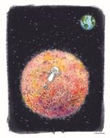 Chillin on Moon Fine-Art Print