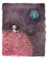 Sitting on a Flower Moon Fine-Art Print