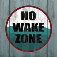 No Wake Zone Fine-Art Print