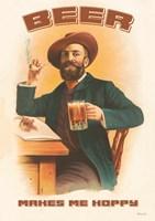 Beer Makes Me Hoppy Fine-Art Print